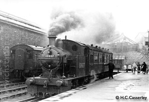 10617 at Horwich Station April 1947