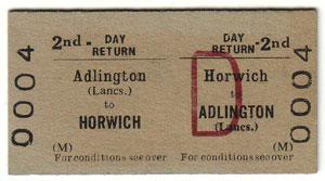 Horwich Railway Station Tickets