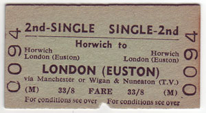 Horwich to Euston